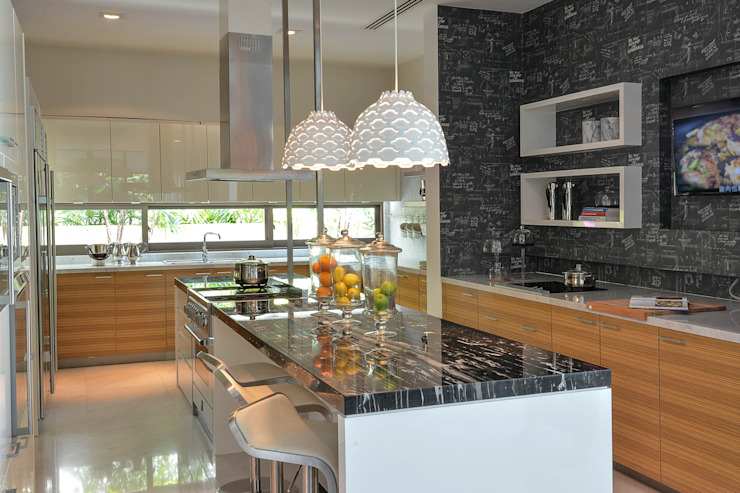 Sentosa Beach House Design Intervention Kitchen White