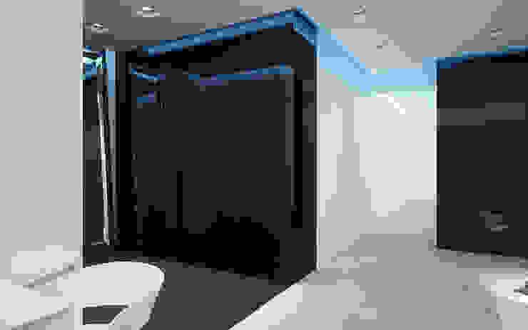 Apartament, pow. 114 m2, Elbląg-cz.3 Minimalistyczny salon od 3miasto design Minimalistyczny
