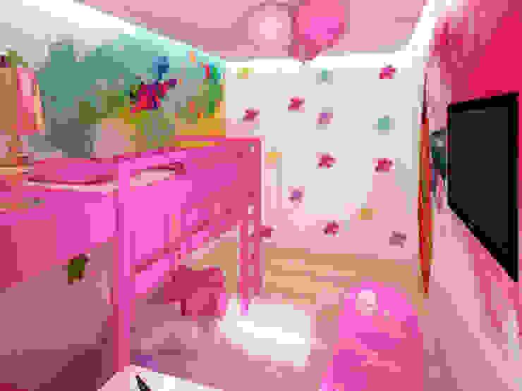 Apartament, pow. 114 m2, Elbląg-cz.3 Eklektyczny pokój dziecięcy od 3miasto design Eklektyczny