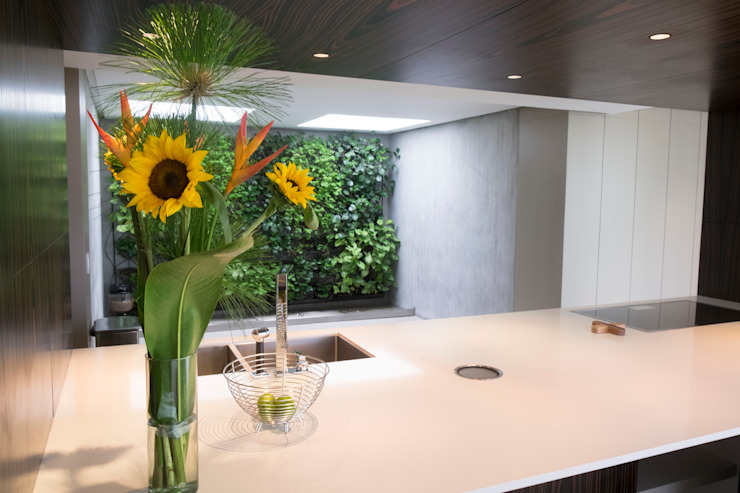 Cocina Lomas del Mirador Cocinas de estilo moderno de KPK Moderno