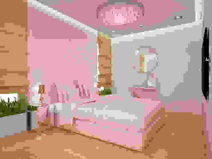 에클레틱 침실 by 3miasto design 에클레틱 (Eclectic)