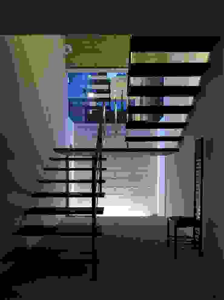 KaleidoscopeⅡ モダンスタイルの 玄関&廊下&階段 の 澤村昌彦建築設計事務所 モダン