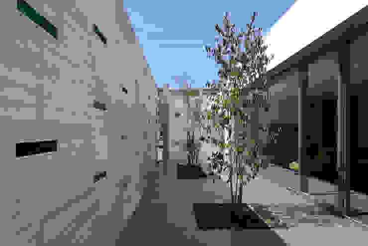 KaleidoscopeⅤ モダンな庭 の 澤村昌彦建築設計事務所 モダン