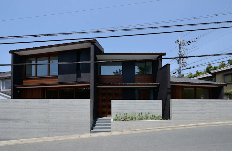 澤村昌彦建築設計事務所 Rumah Gaya Asia