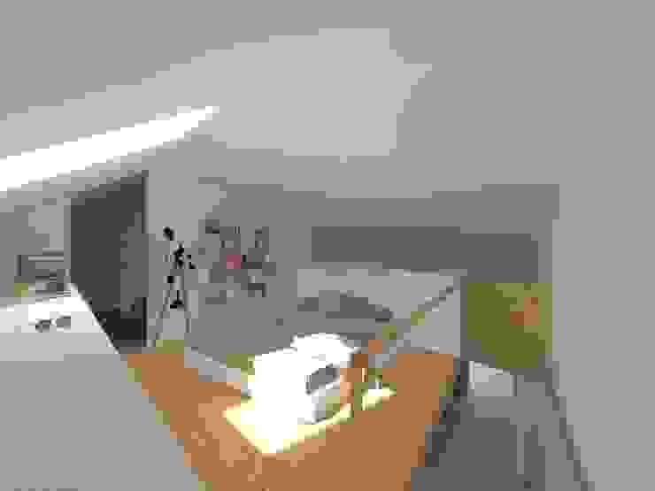 Loft Sé - quarto por homify
