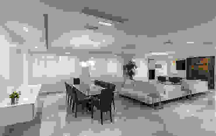 APTO GE Salas de estilo moderno de Design Group Latinamerica Moderno