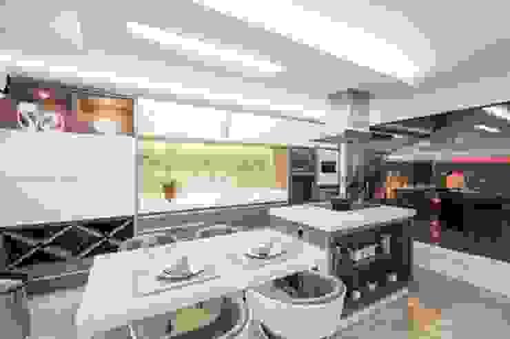 Modern Mutfak Habitat arquitetura Modern