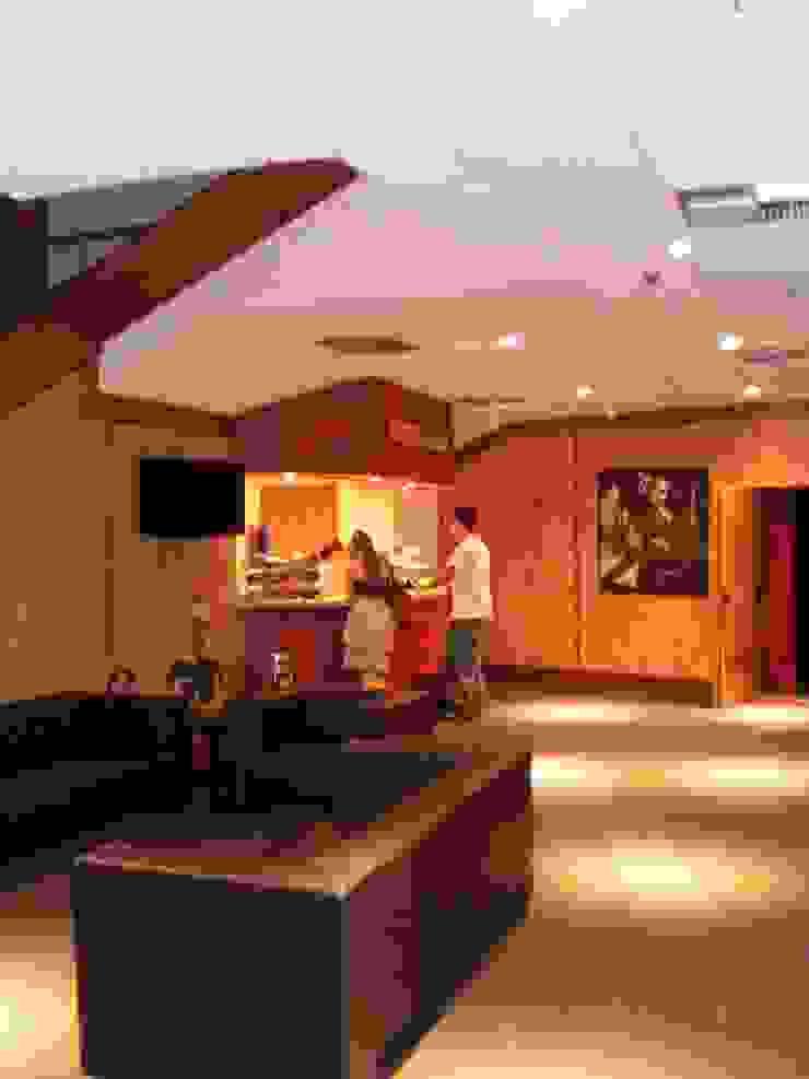 Teatro Colinas Lojas & Imóveis comerciais modernos por ANALU ANDRADE - ARQUITETURA E DESIGN Moderno