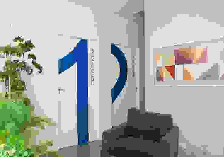 SEEB – Sindicato dos Empregados em Estabelecimentos Bancários Espaços comerciais modernos por ANALU ANDRADE - ARQUITETURA E DESIGN Moderno