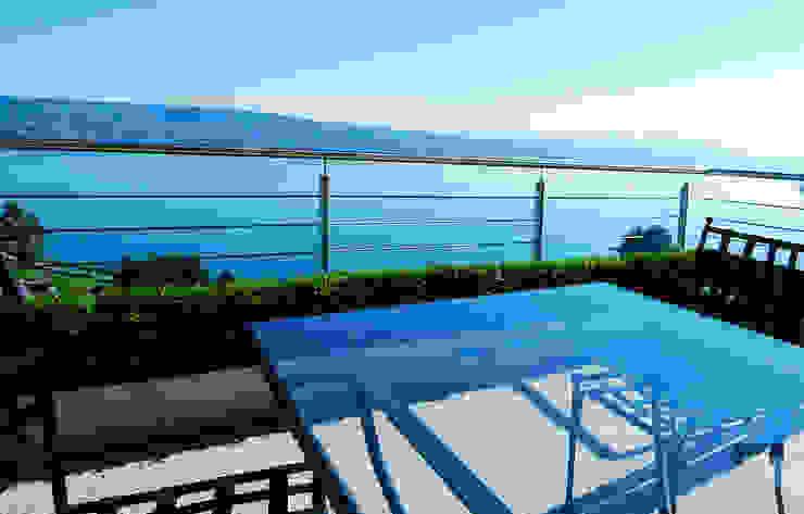 Lustenberger Schelling Landschaftsarchitektur Balcon, Veranda & Terrasse modernes
