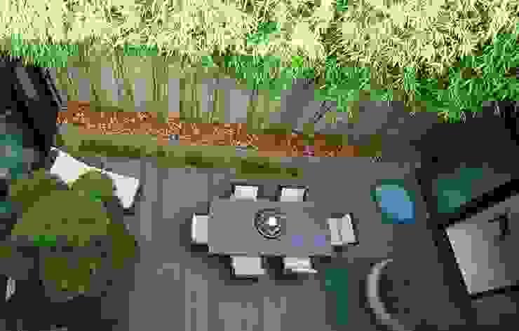Balkon, Beranda & Teras Modern Oleh Lustenberger Schelling Landschaftsarchitektur Modern