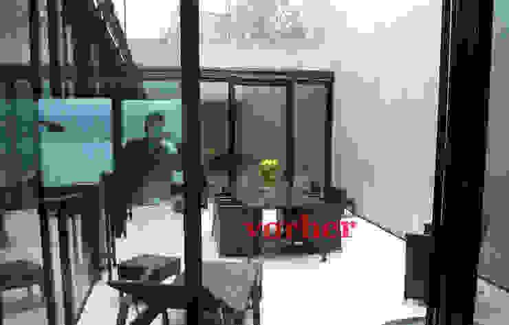 Lustenberger Schelling Landschaftsarchitektur Modern style balcony, porch & terrace