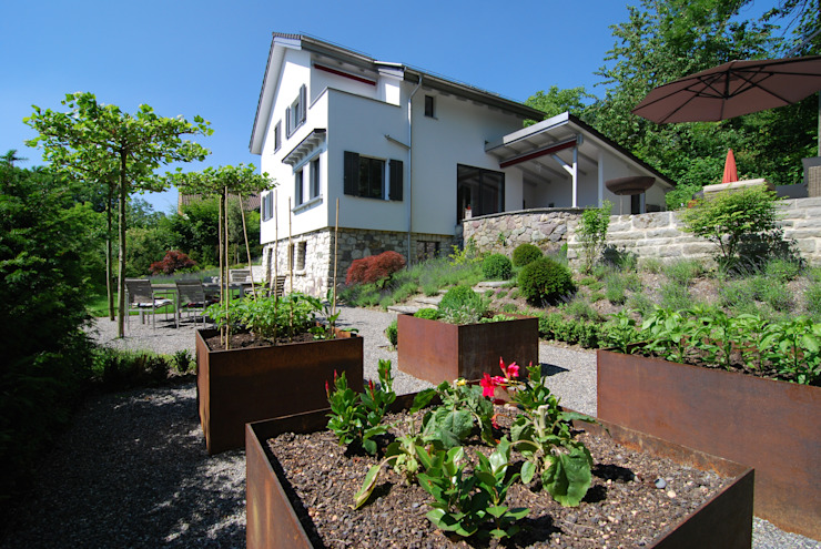 Lustenberger Schelling Landschaftsarchitektur Moderne tuinen