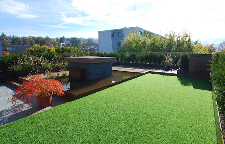Lustenberger Schelling Landschaftsarchitektur Modern terrace
