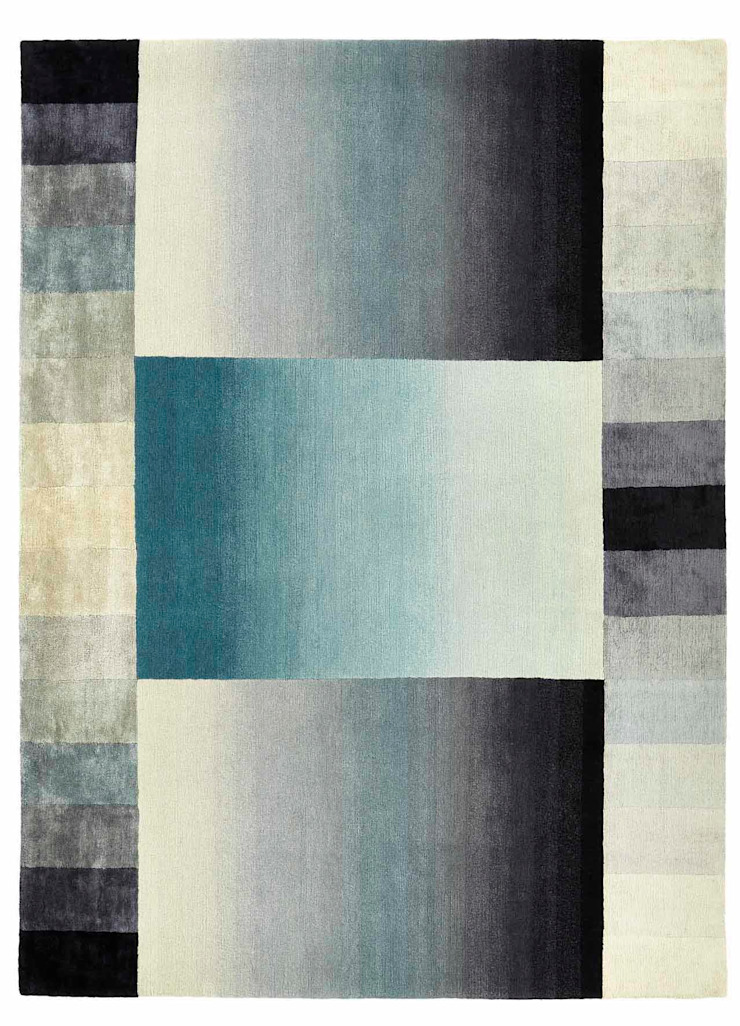 Deirdre Dyson BEYOND hand knotted wool & silk rug Deirdre Dyson Carpets Ltd Walls & flooringCarpets & rugs Multicolored