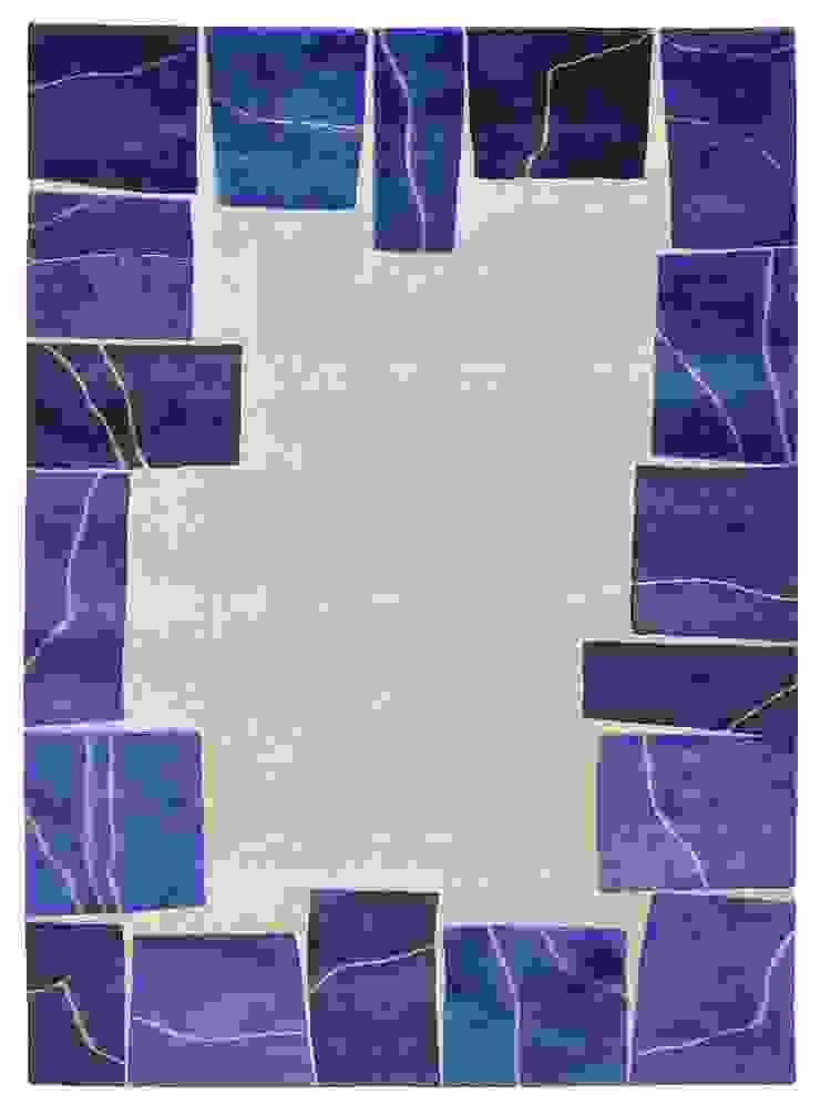 Deirdre Dyson LAPIS hand knotted wool & silk rug Deirdre Dyson Carpets Ltd Walls & flooringCarpets & rugs