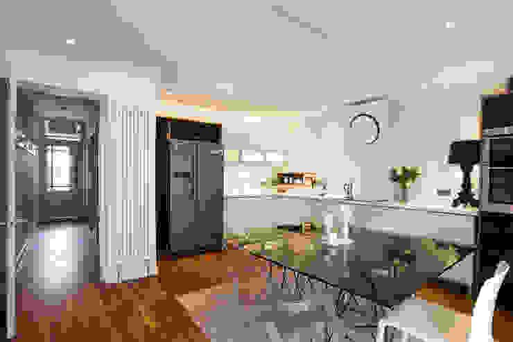 kitchen Cocinas de estilo minimalista de Urban Creatures Architects Minimalista