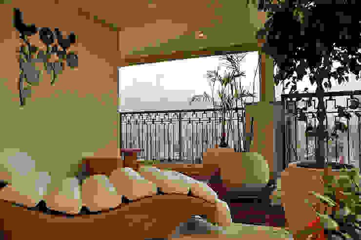 Jardim França Varandas, alpendres e terraços modernos por Politi Matteo Arquitetura Moderno