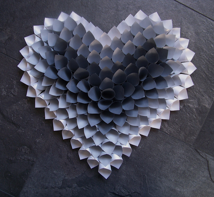 modern  oleh Mushette, Modern Kertas