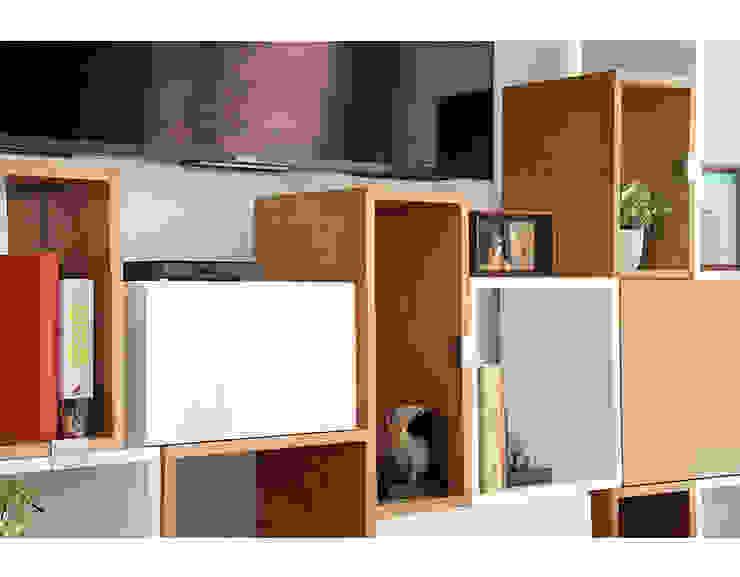 Bilioteca Modular de Redesign Studio Moderno