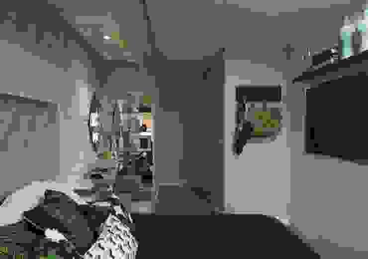 Dormitório Casal Quartos modernos por Gabriela Angonese Arquitetura Moderno