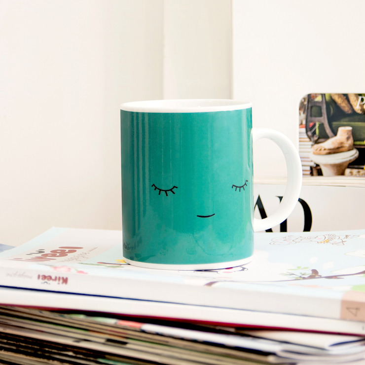 Mugs Creatures Collection: scandinavian  by Paparajote Factory UK, Scandinavian Porcelain