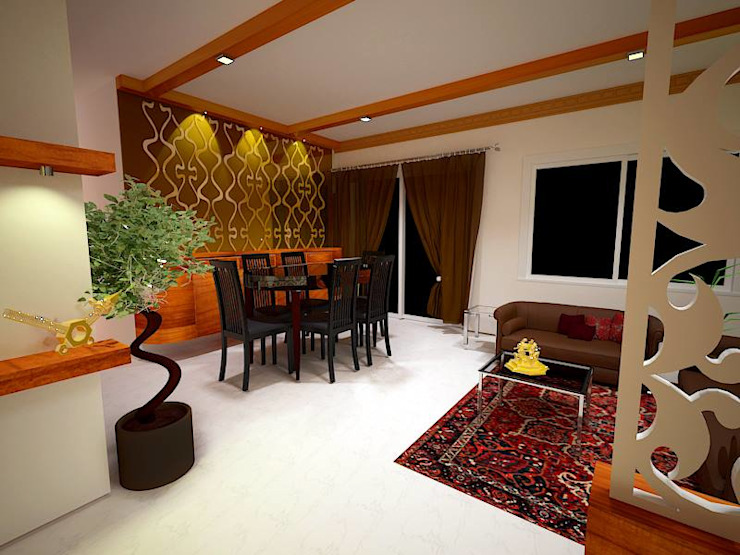 Lavish Livingroom Modern living room by Interior Design Modern