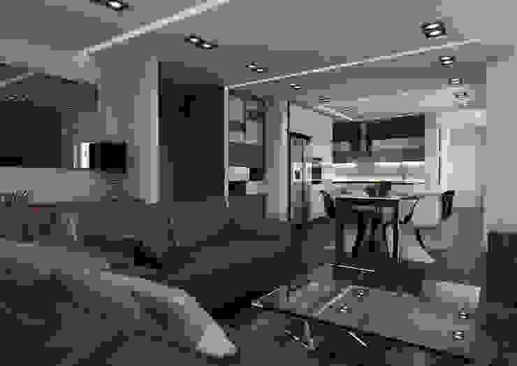 Salon minimaliste par malee Minimaliste