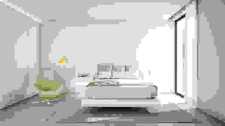 Dormitorios de estilo escandinavo de homify Escandinavo