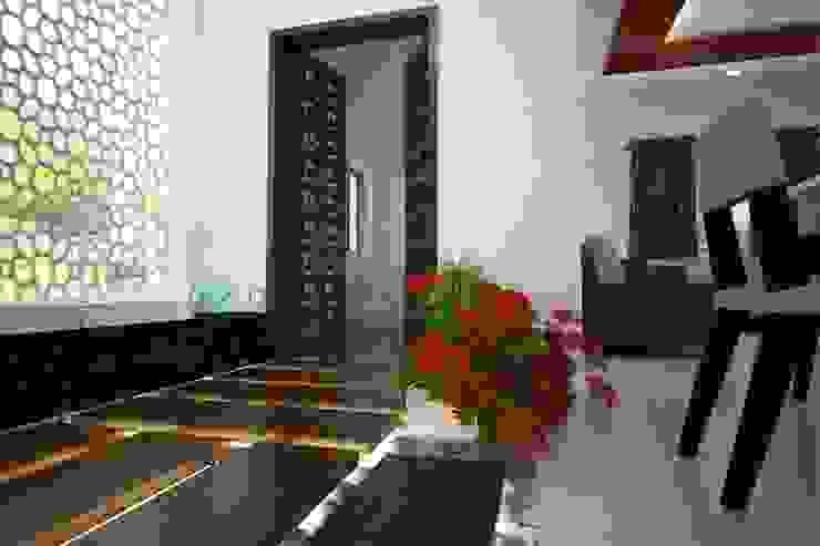 Villa Project Modern corridor, hallway & stairs by ARY Studios Modern