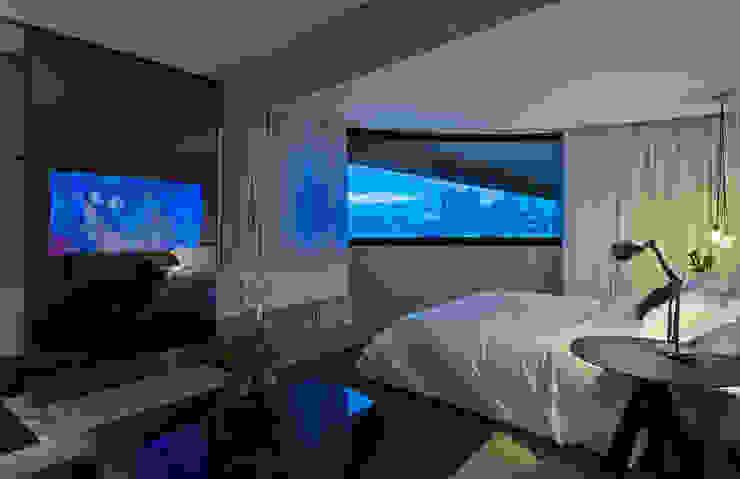 Suíte Presidencial | Mercure Vila da Serra – Belo Horizonte Hotéis modernos por Piacesi Arquitetos Moderno
