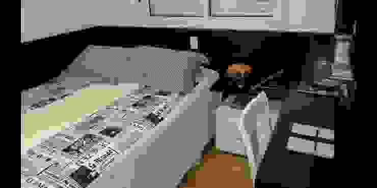 Apartamento 140m² Quartos modernos por Marianna Vetorazzo Haddad Arq+Interiores Moderno