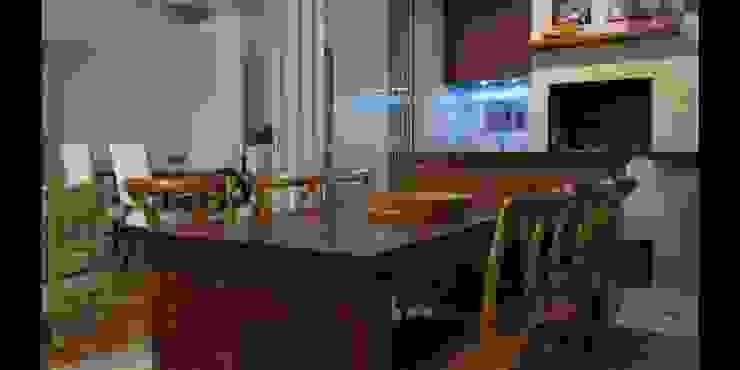 Apartamento 140m² Salas de jantar modernas por Marianna Vetorazzo Haddad Arq+Interiores Moderno