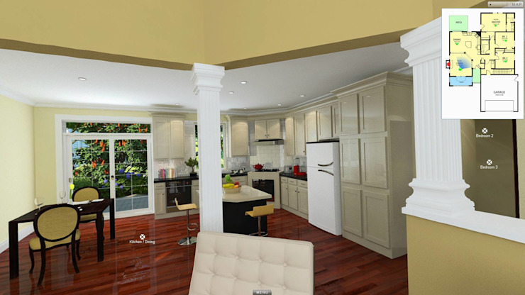 Residential project Modern kitchen by ARY Studios Modern