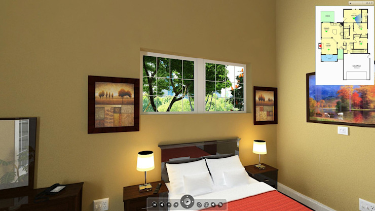 Residential project Modern style bedroom by ARY Studios Modern