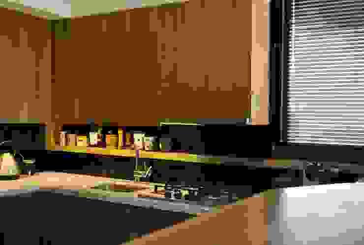 T + T Arquitectos ห้องครัว