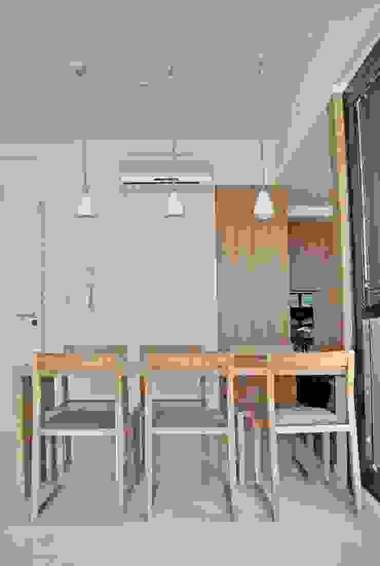 T + T Arquitectos ห้องทานข้าว
