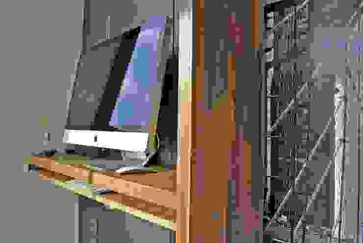 T + T Arquitectos ห้องทำงาน/อ่านหนังสือ