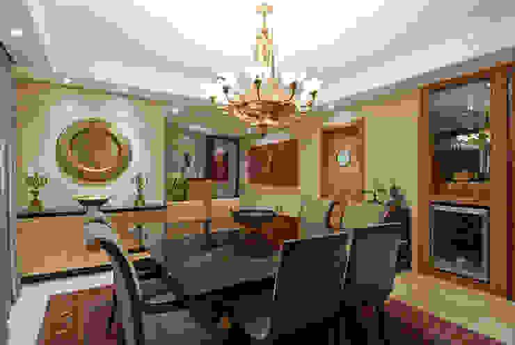 Projetos Residenciais Priscila Gabrielly Designer de Interiores Salas de jantar modernas