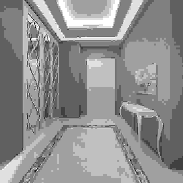 現代風玄關、走廊與階梯 根據 Treso İç Mimarlık 現代風