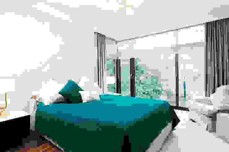 R.K. Konutu Modern Yatak Odası Treso İç Mimarlık Modern