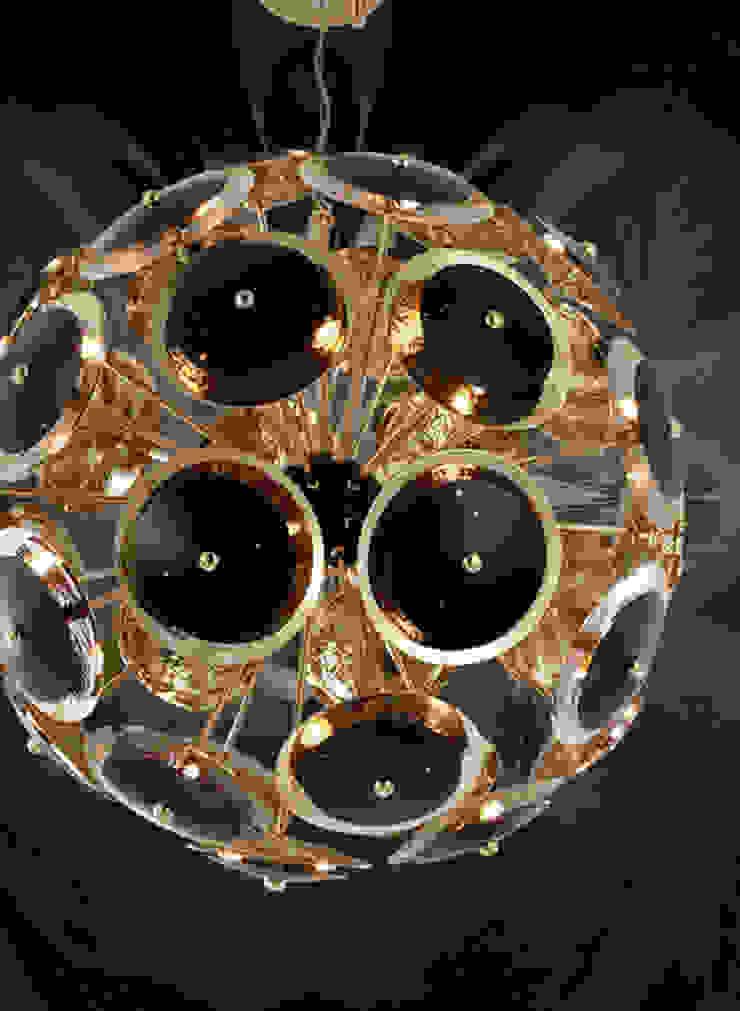 CASTRO LIGHTING projects por LUZZA by AIPI - Portuguese Lighting Association Moderno
