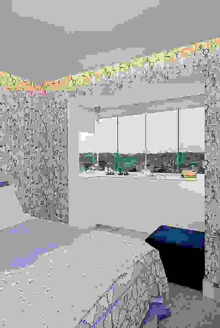 Apartamento Celebrity Quartos modernos por carolina lisot arquitetura Moderno