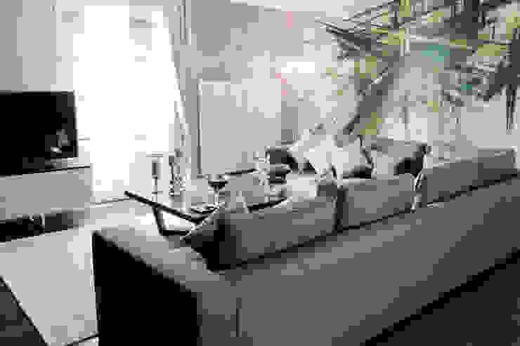 R.K. Konutu Modern Oturma Odası Treso İç Mimarlık Modern
