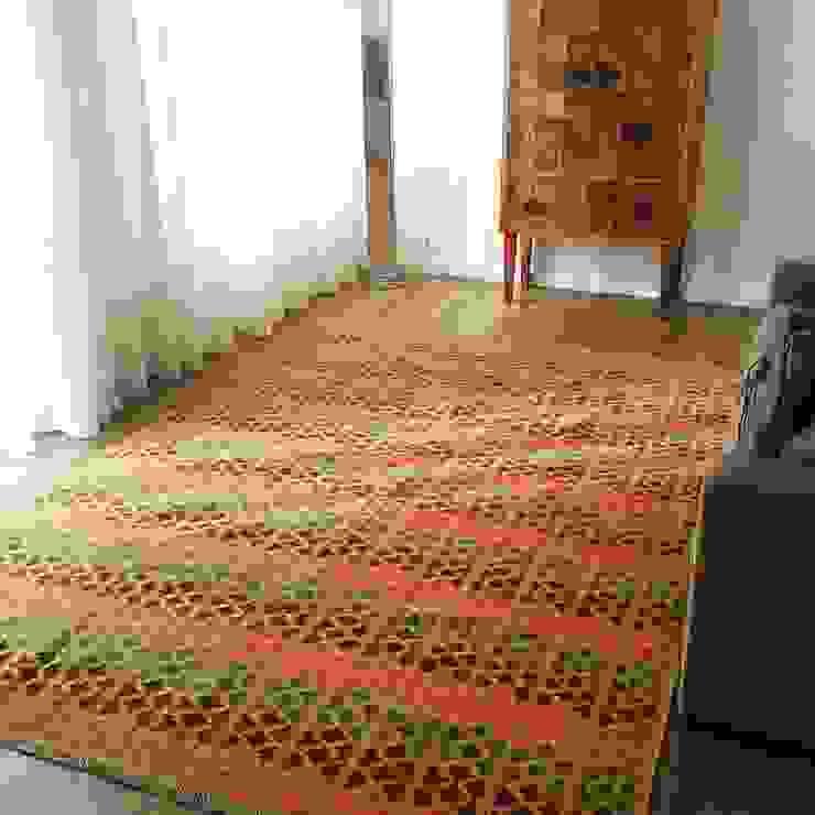 Interiores kilim por kilim.pt Rústico Lã Laranja