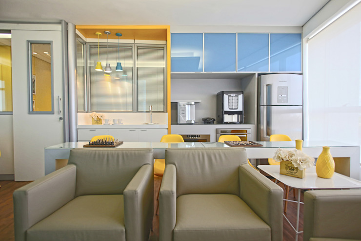 Copa Edifícios comerciais modernos por Orizam Arquitetura + Design Moderno