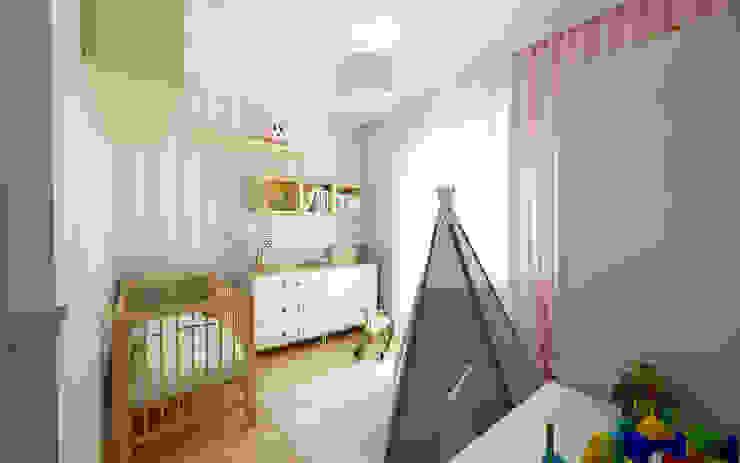 PRZYTULNY DOM NA WZGÓRZU Klasyczny pokój dziecięcy od malee Klasyczny