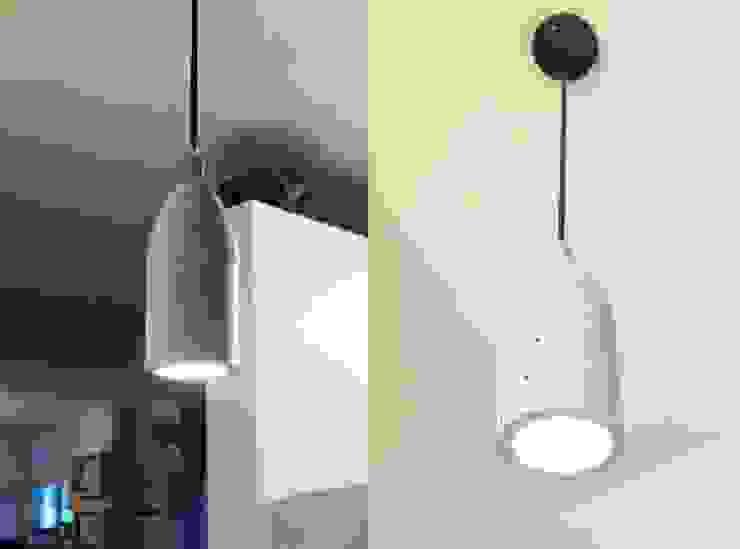 Proyecto Mesa y Lámpara de En Concreto Taller Moderno