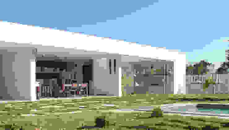 Projeto de área de lazer Casas modernas por StudioM4 Arquitetura Moderno