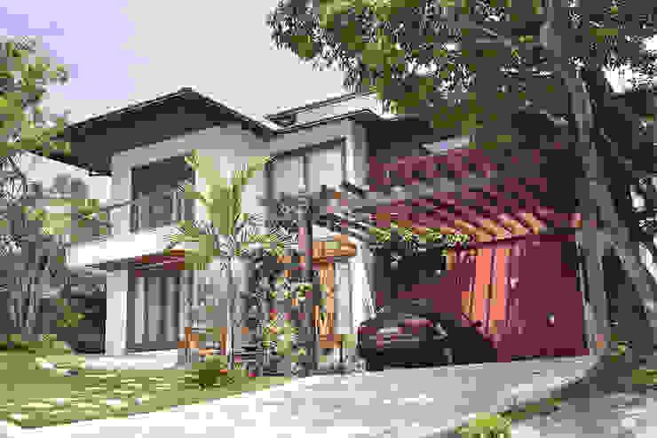 RESIDÊNCIA AP Casas campestres por a4 arquitetos Campestre